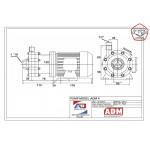 Центробежный насос с магнитной муфтой ADM 04