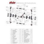Мембранный пневматический насос AlphaDynamic RUBY 150A-P-TAS-T