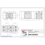 Мембранный пневматический насос MINI 005 - 1/4″