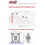 Мембранный пневматический насос AlphaDynamic RUBY 051V-P-STVT