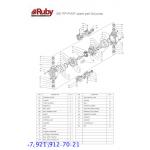 Мембранный пневматический насос AlphaDynamic RUBY 081P-P-STPT