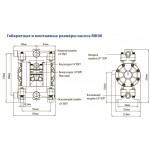Мембранный пневматический насос MK06-PP