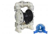 Мембранный пневматический насос MK40-PP