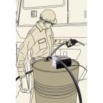 Насос для перекачки дизельного топлива TECH 40