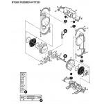 Пневматический мембранный насос NTG 50